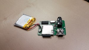 MP3 player full PCB and battery